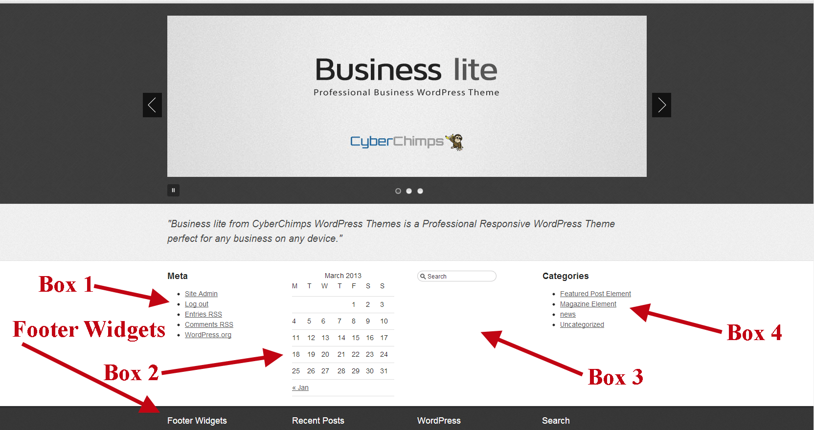 Business lite Boxes