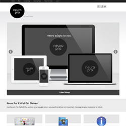 clean modern responsive WordPress theme