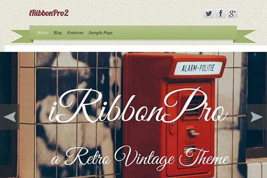 Vintage Retro WordPress Theme