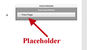 Placeholder Element