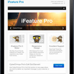 iFeature5 Responsive WordPress Theme Screenshot
