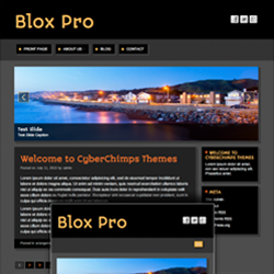 Blox Pro Futuristic WP Theme