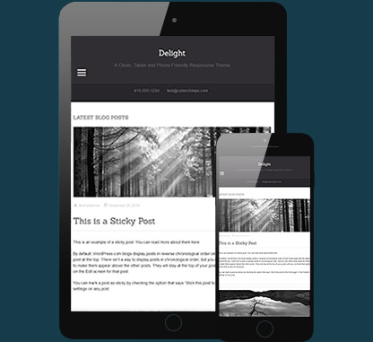 WordPress Theme for writers and bloggers