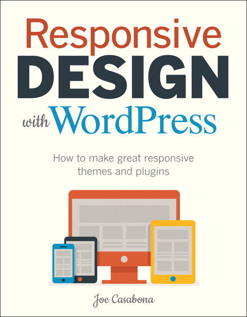 Cover of Responsive Design with WordPress book