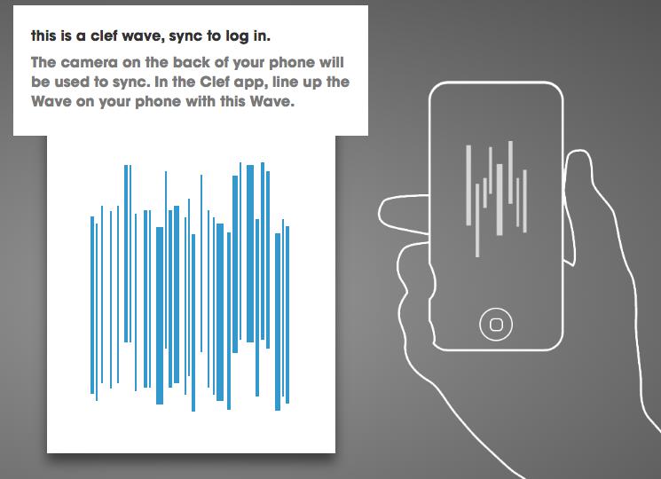 Clef wave login