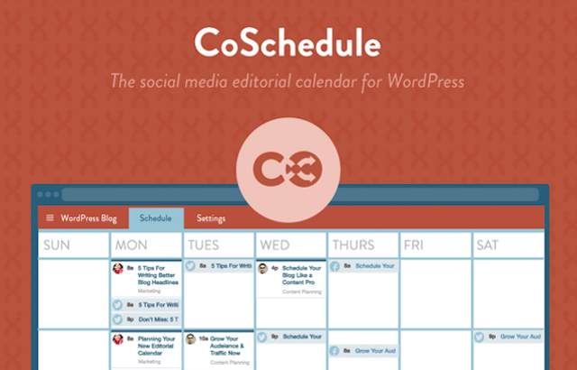 More (Way More) Than Just Another Editorial Calendar: CoSchedule