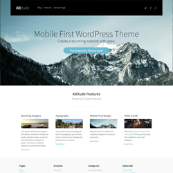 Altitude Mobile First Theme