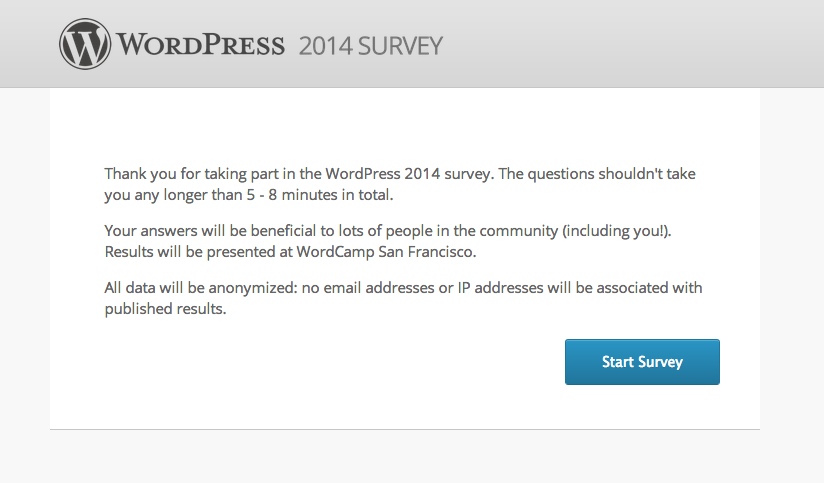how to make a survey on wordpress