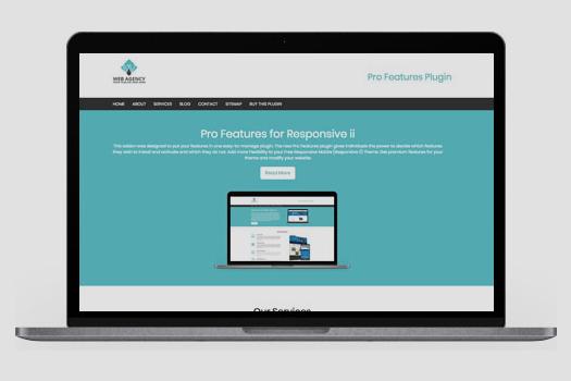 Premium features plugin for responsive mobile theme