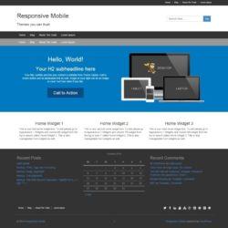 Responsive II (Responsive Mobile)