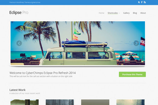 Eclipse CyberChimps Responsive WordPress Theme