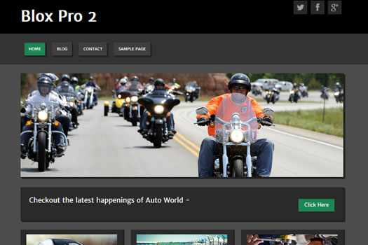 automotive wordpress theme - Blox Pro