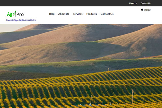 Agriculture Farming WordPress Theme
