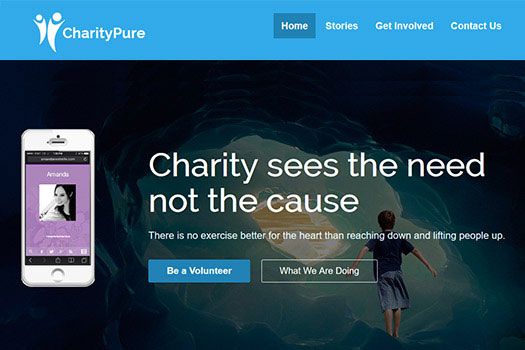 Not For Profit Charity WordPress Theme