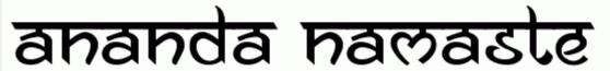 Ananda Namaste by Ananda K. Maharjan