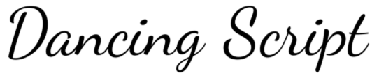 Dancing Script OT by Impallari Type
