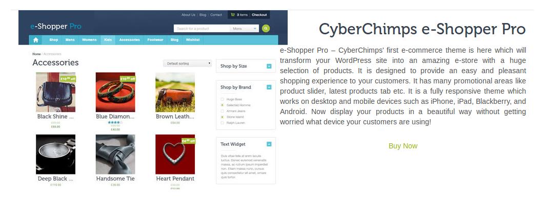 e-Shopper Pro - Blog Drag & Drop elements - Product Preview