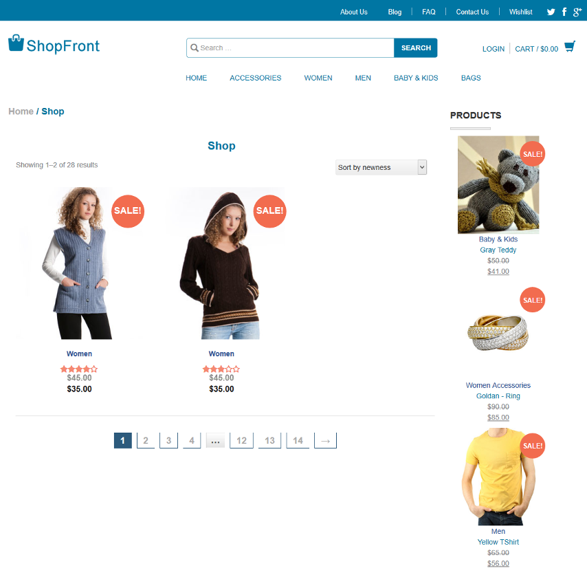 ShopFront WooCommerce Compatible