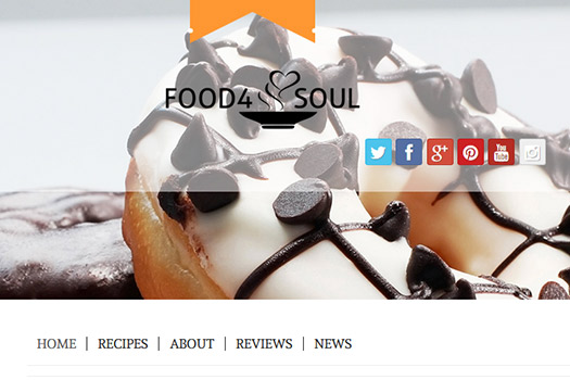 Food Word Press Theme