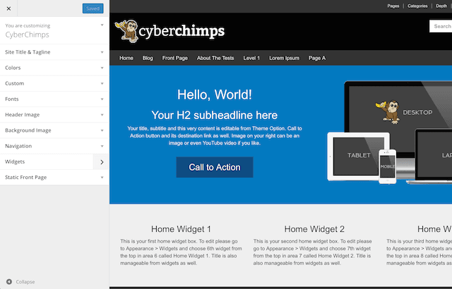 Supercharge your Responsive II theme with CyberChimps Pro Features Plugin