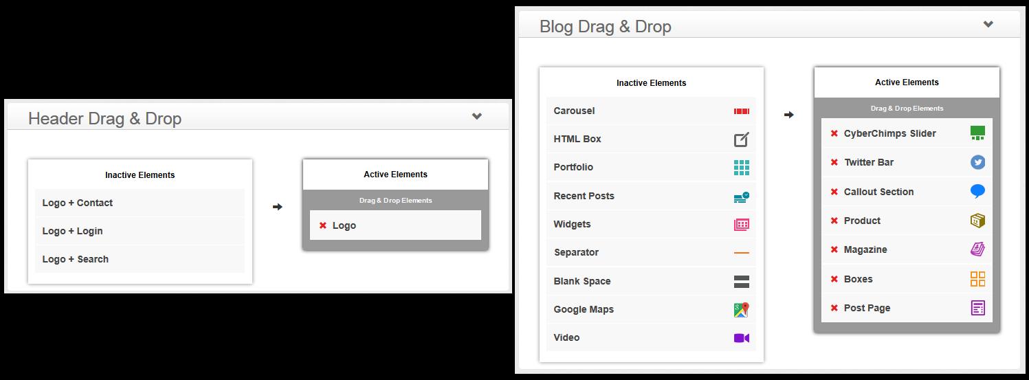 Business Pro - Drag & Drop Elements
