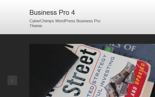 Business Pro –  Premium Business Theme For WordPress