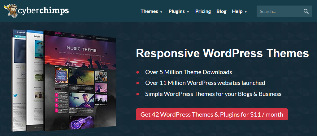 CyberChimps - Free & Premium Responsive WordPress Themes