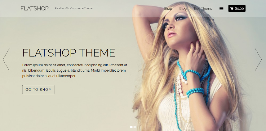 FlatShop - WooCommerce WordPress Theme