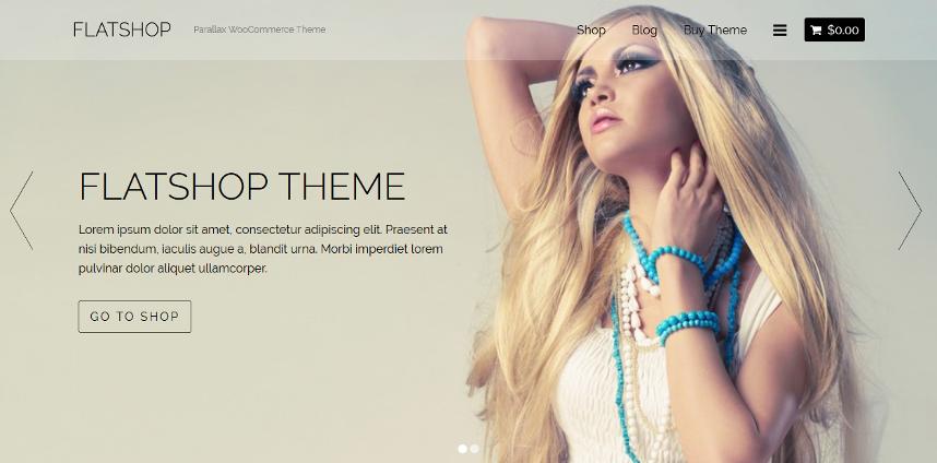 FlatShop - WooCommerce WordPress Theme