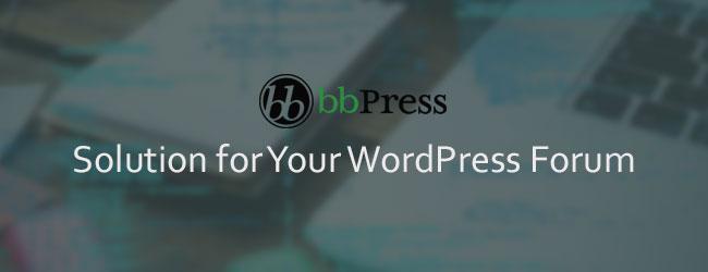 bbPress WordPress Forum Plugin