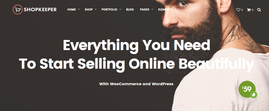 ShopKeeper – WooCommerce WordPress Theme