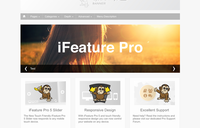 iFeature Pro – A Premium WordPress Blog Theme