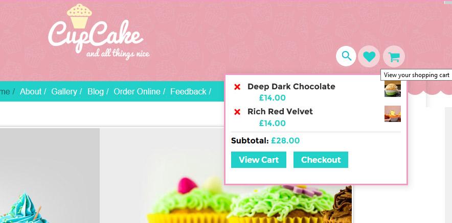 WordPress online shop themes