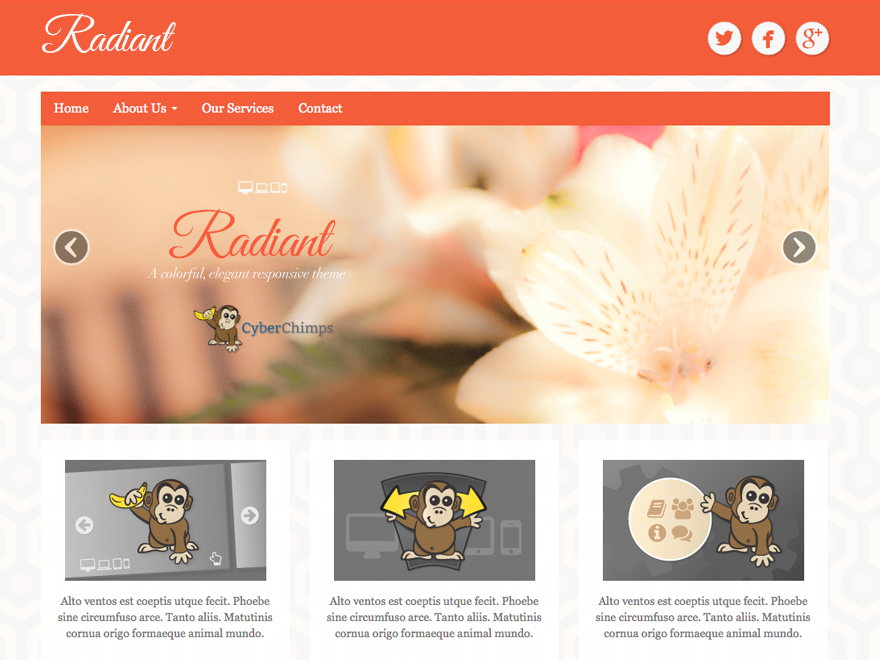 Free Responsive WordPress Theme for Bloggers