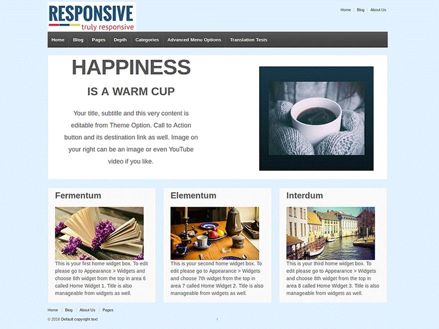 Responsive Free Theme