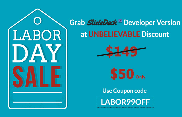 SlideDeck Labor Day Deals