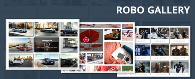 Robo gallery - WordPress video gallery plugin