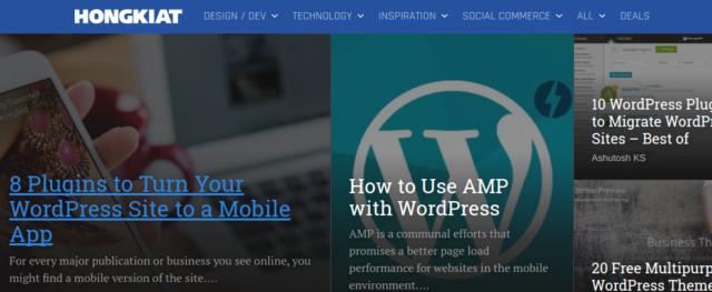 Hongkiat - WordPress tutorial