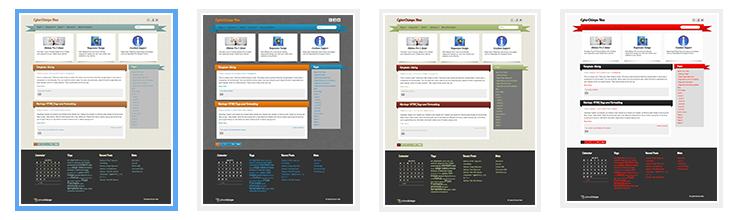 iRibbon Pro 2 - Theme Options - Design - Custom Colors