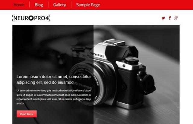 Tutorial On Neuro Pro 4 – WordPress Photography Porfolio Theme