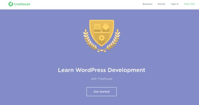 Treehouse - WordPress tutorial