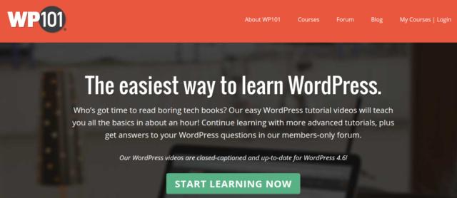WP101 - WordPress tutorial