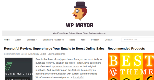 WPMayor - WordPress tutorial