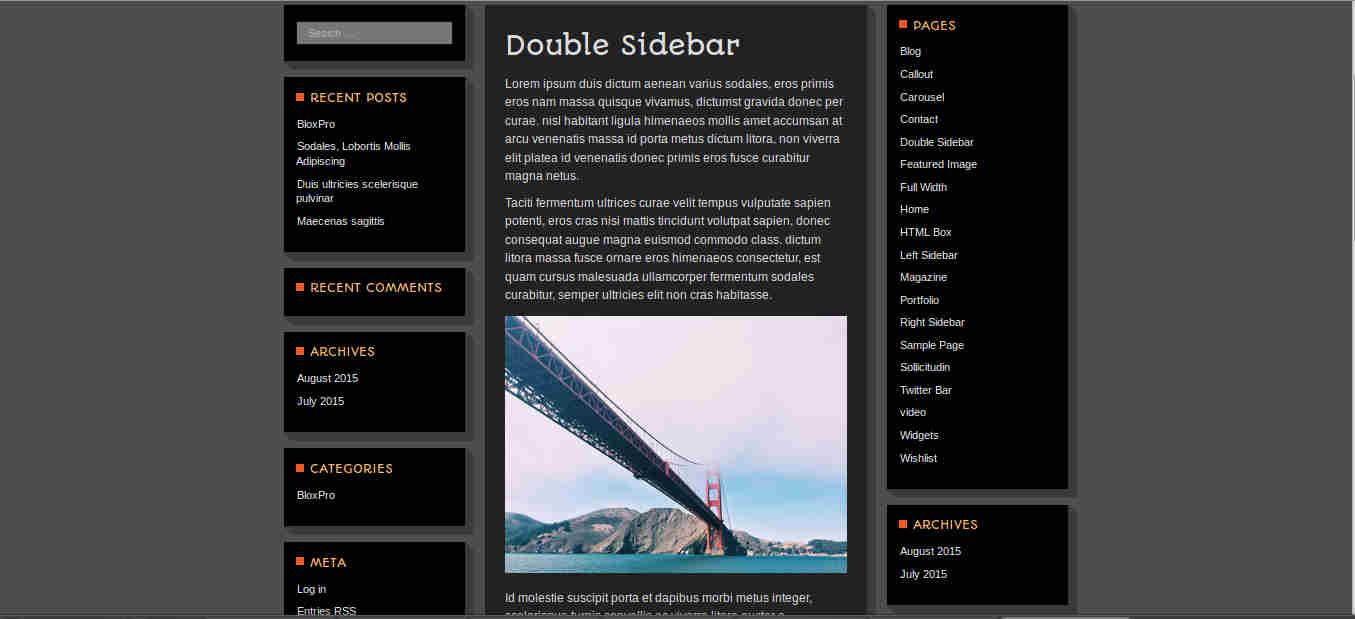Website Layouts for WordPress Magazine Theme