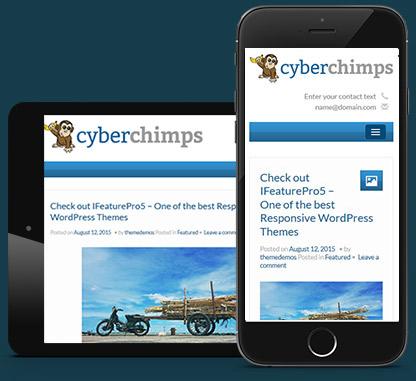 Responsive WordPress Blogging Theme