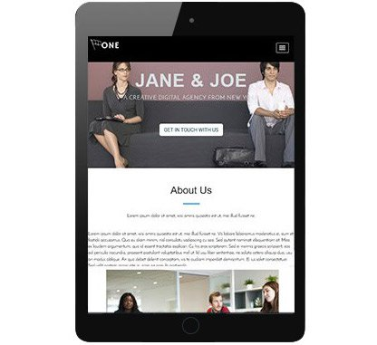 One Page Business Pro - One Page WordPress Theme