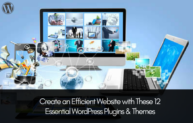 Create an Efficient website with These 12 Essential WordPress Plugins and Themes