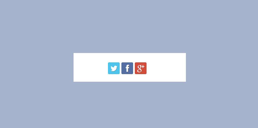 Social Media icons for Corporate WordPress theme