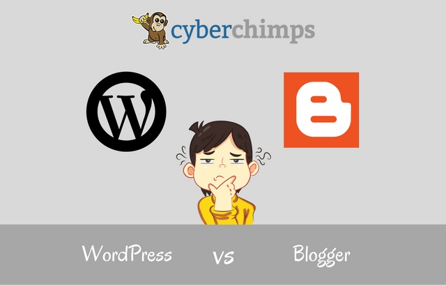 WordPress vs Blogger : A Complete Comparison of the Pros and Cons