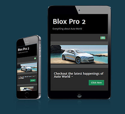 WordPress Automobile Theme